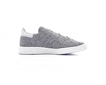 Schuhe Grau & Weiß Unisex Adidas Stan Smith Pk Boost S80069