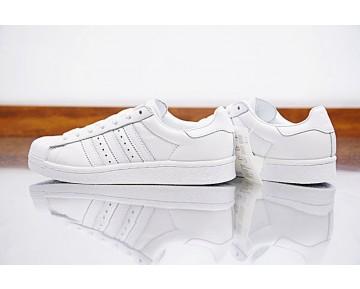 Weiß Gold Schuhe Adidas Superstar Boost Bb0187 Unisex