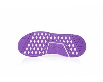 Unisex Supreme X L.V X Adidas Nmd R1 Sup Ba7674 Schuhe Purple