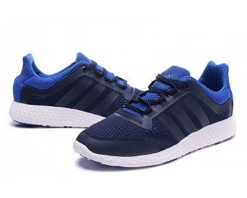 Adidas Pure Boost Chill S81451 Unisex Blau & Schwarz & Weiß Schuhe