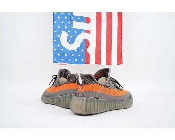 Schuhe Grau & Orange Adidas Yeezy Boost V2 Bb1826 Unisex