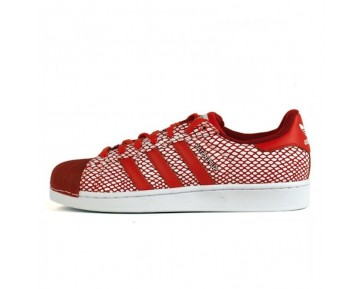 Adidas Superstar Snake Pack S82730 Schuhe Unisex Color Rot / Rot / Running Weiß Ftw