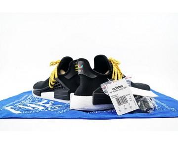 Pharrell Williams X Adidas Originals Nmd Human Race Bb3068 Unisex Schuhe Schwarz
