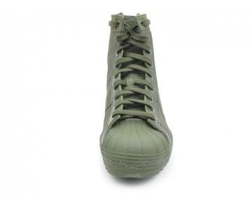 Unisex Army Grün Schuhe Adidas Originals Superstar Jungle M25507