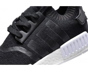Unisex Adidas Nmd R1 Primeknit Ba8629 Core Schwarz & Weiß Schuhe