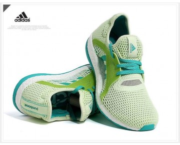 Adidas Pure Boost X Aq6697 Schuhe Damen Shock Grün