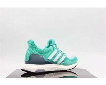Schuhe Grün & Weiß Damen Adidas Ultra Boost Aq9953
