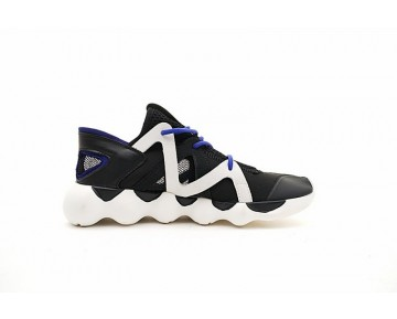Schwarz & Weiß & Blau Y-3 Spring Kyujo Low Aq5548 Unisex Schuhe