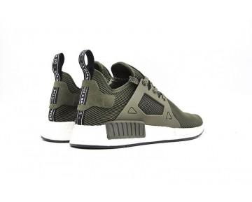 Army Grün Schuhe Adidas Originals Nmd Primeknit Xr1 S32217 Unisex
