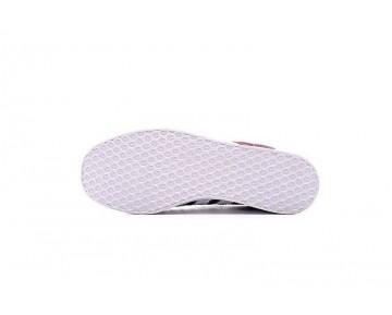 Unisex Schuhe Burgund Rot & Weiß Adidas Originals Gazelle Bb5255