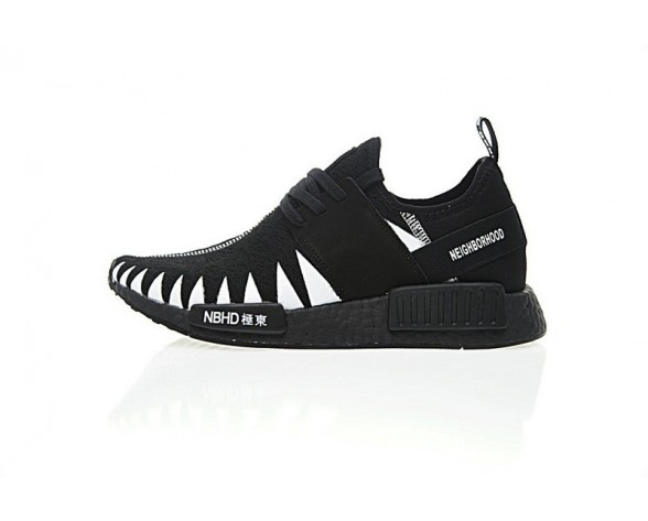 Schuhe Neighborhood X Adidas Originals Nmd R_1 Pk Boost Bhd Bz0295 Schwarz Unisex