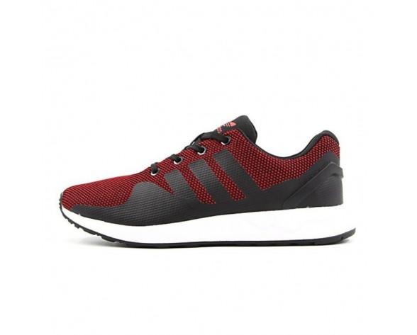 Burgund Rot & Schwarz Unisex Schuhe Adidas Originals Zx Flux Adv Tech S76393