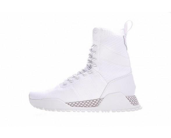 Weiß Adidas Originals Af 1.3 Primeknit Boots By3007 Schuhe Unisex
