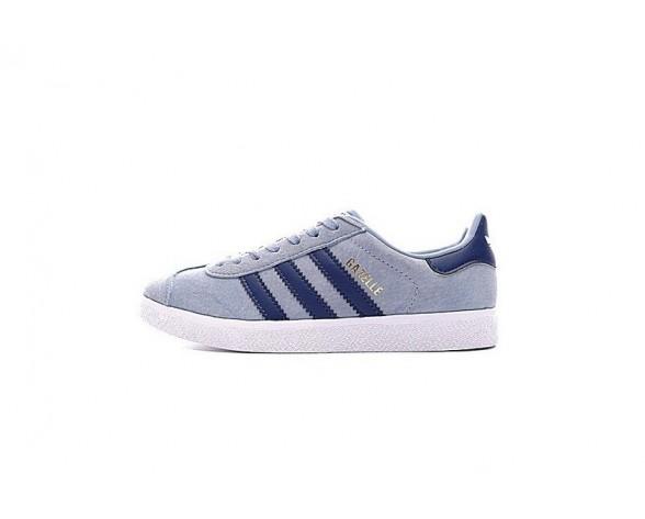 Adidas Originals Gazelle Ba7656 Schuhe Unisex Water Blau & Tief Blau & Weiß