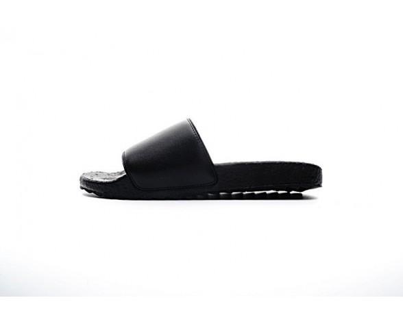 Neighborhood X Adidas Originals Adilette Sandal Boost Hd Schwarz & Weiß Unisex