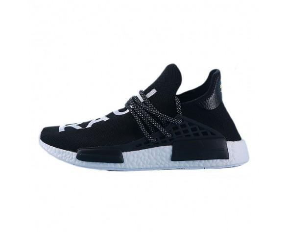 Schwarz & Weiß Pharrell Williams X Adidas Nmd Human Race S79167 Schuhe Unisex