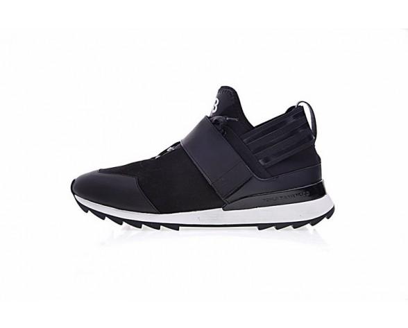 Schuhe Unisex Schwarz & Weiß Adidas Y-3 Atira M22006
