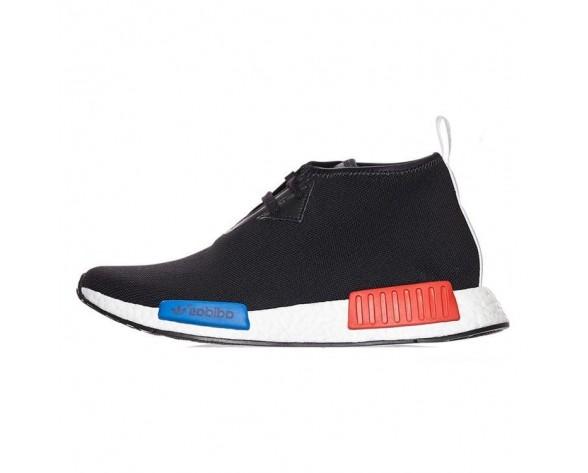 Unisex Adidas Nmd_C1 Chukka Oge S79148 Schuhe Schwarz & Blau & Rot