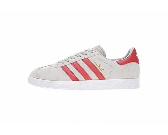 Solid Grau & Rot Schuhe Adidas Originals Gazelle Bb5257 Herren