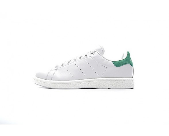 Suede Weiß Grün Adidas Stan Smith Boost Bb0008 Schuhe Unisex