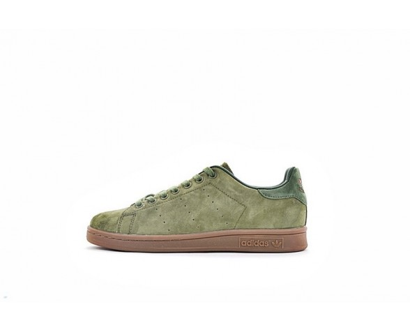 Schuhe Adidas Originals Stan Smith S80026 Unisex Army Grün