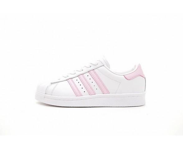 Schuhe Adidas Originals Superstar Boost W Bb0008 Unisex Weiß & Rosa