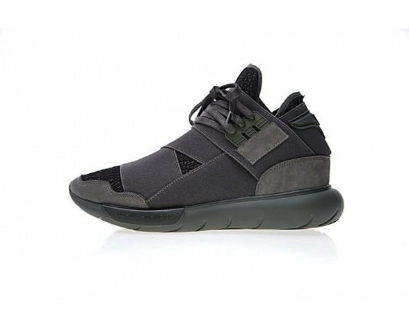 Schuhe Olive Grün & Schwarz Unisex Adidas Y-3 Qasa High Cg3194