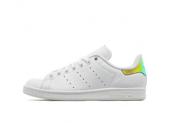 Schuhe Weiß Mosaic Gold Adidas Stan Smithte Aq3009 Unisex