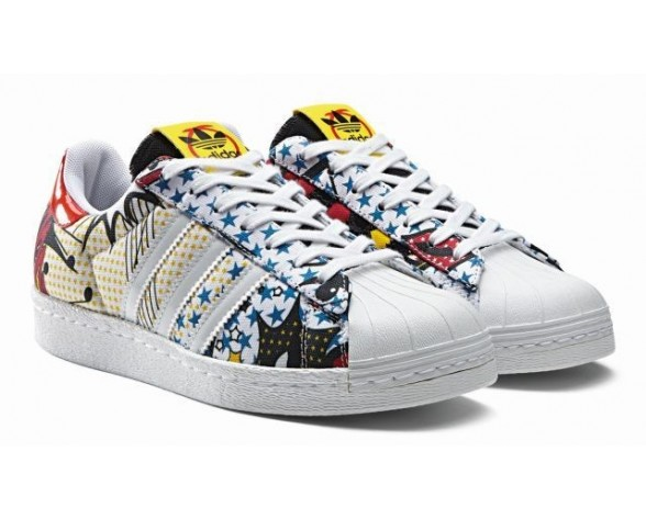 Schuhe Rita Ora X Adidas Original Superstar 80S W Super Pack B26729 Unisex