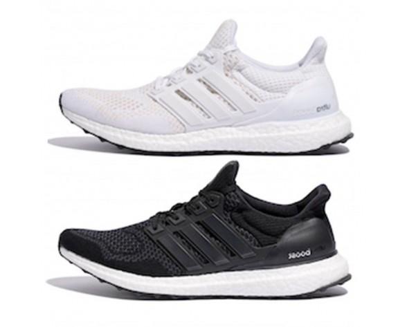 Schuhe Unisex Adidas Ultra Boost Schwarz & Weiß