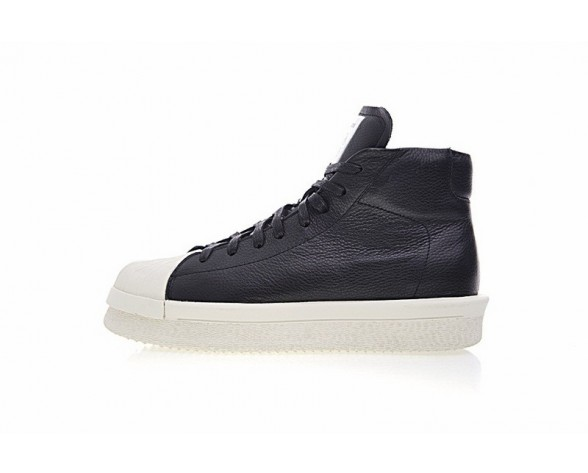 Rick Owens X Adidas Mastodon Pro Model Ii Cq1848 Schwarz & Weiß Unisex Schuhe