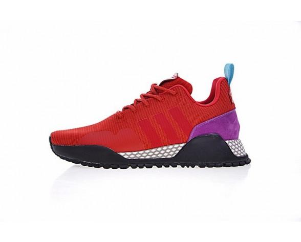 Adidas Af 1.4 Primeknit Bz0614 Schuhe Unisex Rot & Schwarz & Rosa & Weiß