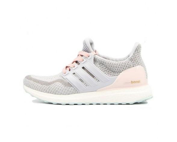 Licht Grau & Rose Rosa Adidas Ultra Boost Aq5933 Schuhe Damen