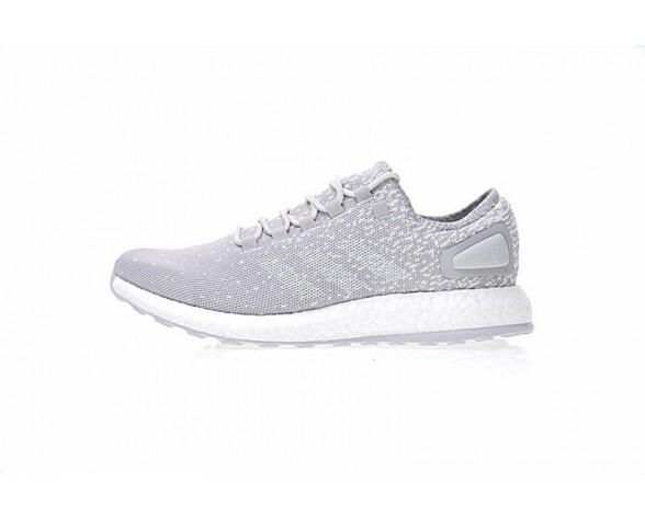 Reigning Champ X Adidas Pure Boost Cg5330 Unisex Schuhe Snow Weiß & Grau