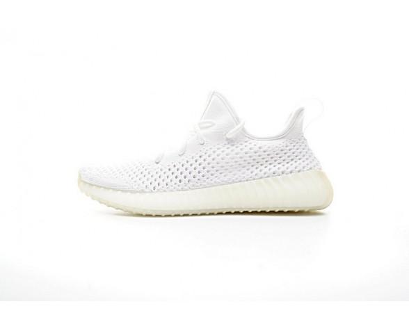 Schuhe Weiß Unisex Adidas Yeezy 350V2 Boost
