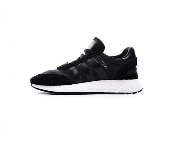 Adidas Iniki Runner Boost Bb2100 Schwarz & Gold Schuhe Unisex