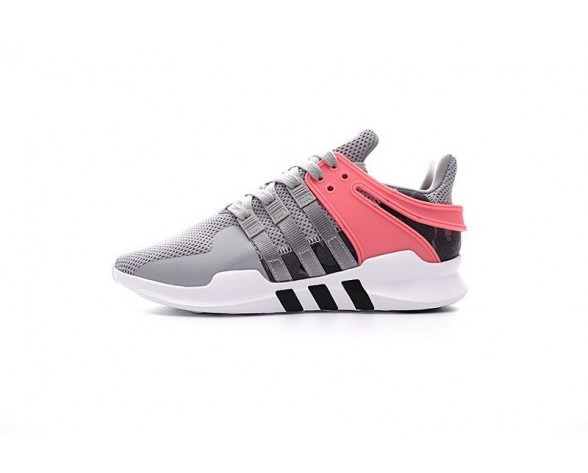 Herren Schuhe Medium Grau/Turbo Rot Adidas Eqt Support Adv Primeknit 93 Bb2792