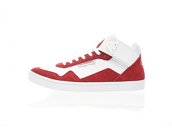 Herren Schuhe Weiß & Rot Yohji Yamamoto By Adidas Y-3 Kazuhuna Aq5527