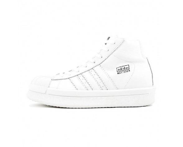 Schuhe Unisex Weiß adidas X Rick Owens Mastodon Pro Ba9761