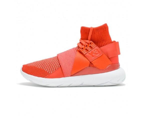 Schuhe Unisex Rot & Weiß Y-3 Qasa Elle Lace Knit Af6193