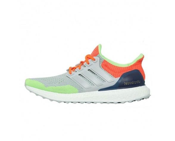 Schuhe Kolor X Adidas Ultra Boost Unisex Apple Grün & Orange Rot
