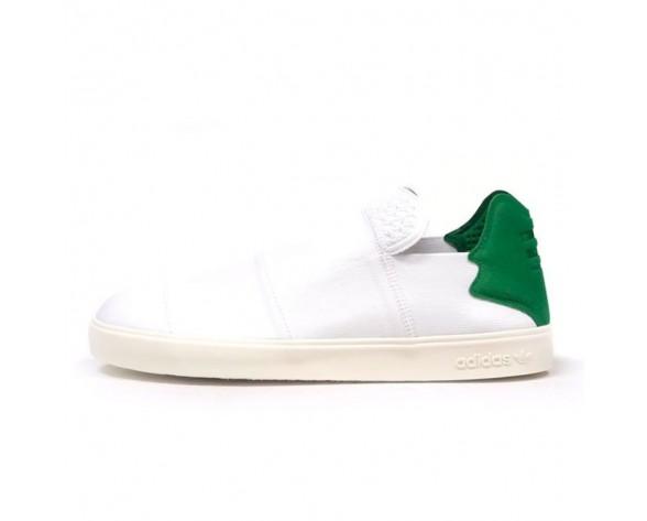 Schuhe Pharrell Williams X Adidas Elastic Slip On Aq4920 Unisex Weiß & Grün