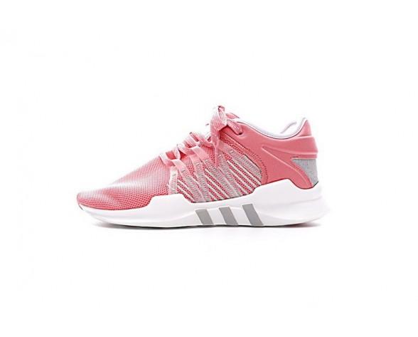 Schuhe Damen Coral Rosa & Weiß Adidas Eqt Support Adv Primeknit 91/17 Cq2151