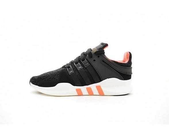 Schuhe Schwarz & Grau & Orange Herren Adidas Eqt Support Adv Primeknit 93/16 Bb1305