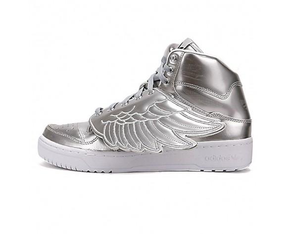 Adidas Originals X Jeremy Scott Wings S77798 Schuhe Unisex Metallic Silber