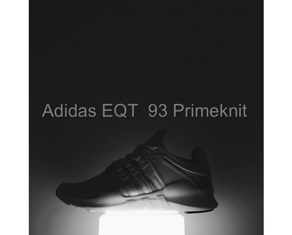 Unisex Adidas Eqt Running Support 93 Primeknit S81496 Milk Weiß Schuhe