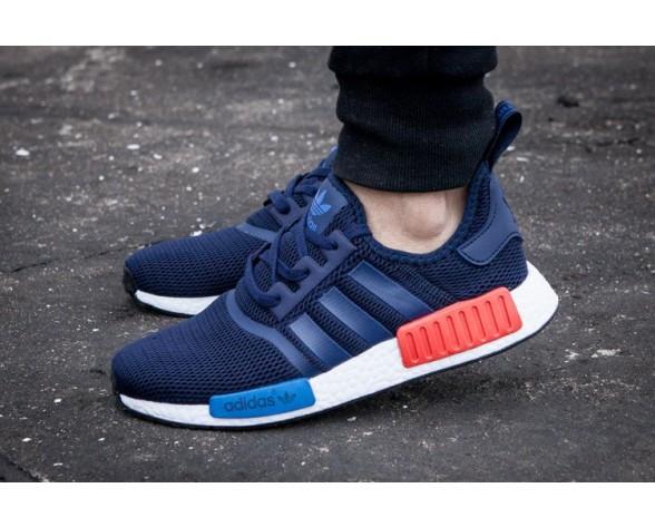 Adidas Nmd Runner Rot Net Blau Rot Schuhe Unisex