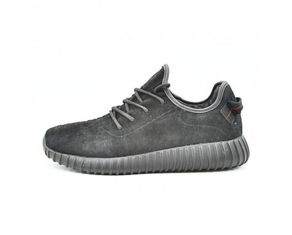Adidas Yeezy Boost 350 Leather Sneakers Aq2659 Herren Schwarz Schuhe