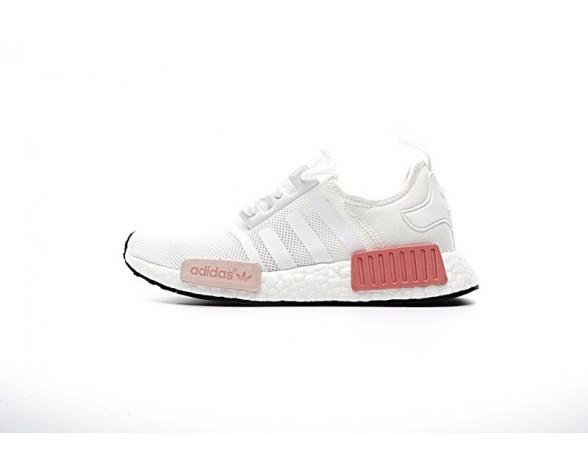 Adidas Nmd R1 Pk Boost By9952 Schuhe Weiß Rose & Rosa Unisex