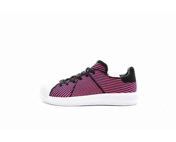 Adidas Superstar Bounce Primeknit S82245 Schuhe Rosa & Weiß Unisex